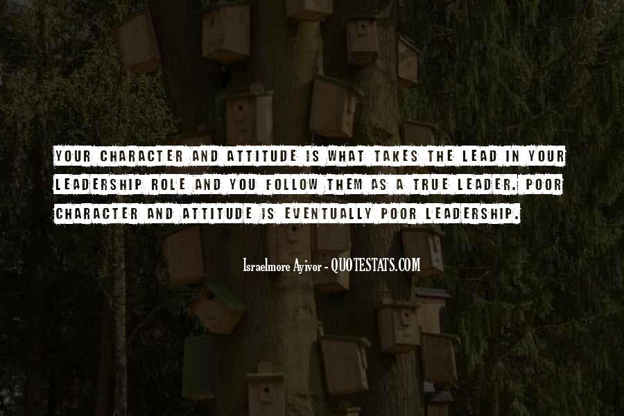 Quotes About Poor Leadership #421706