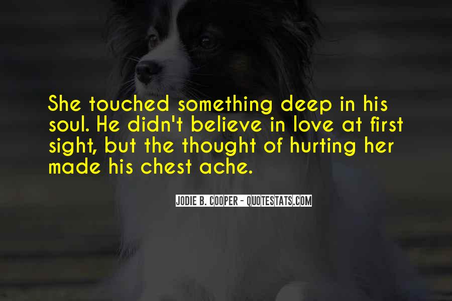 Quotes About Hurting The One You Love #215218