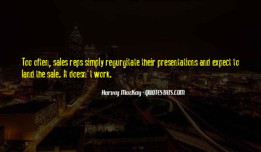 Quotes About Sales Presentations #1239903