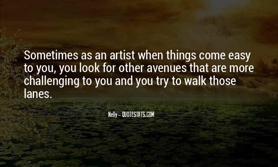 Quotes About Avenues #1349944
