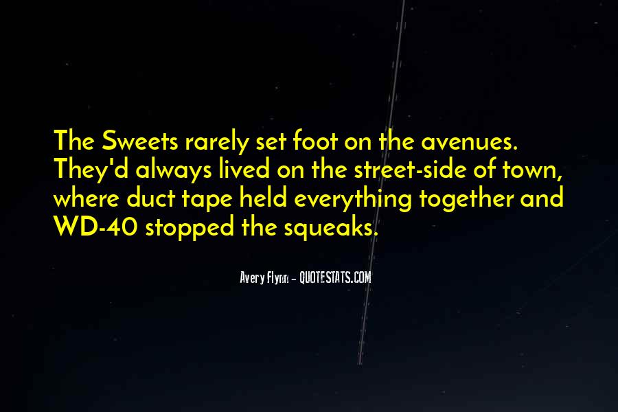 Quotes About Avenues #1421263