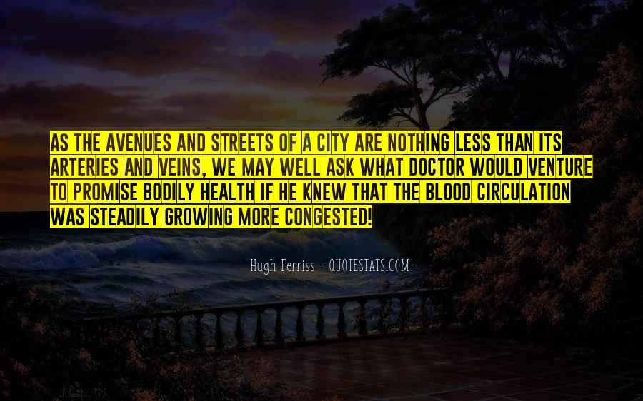 Quotes About Avenues #1432985