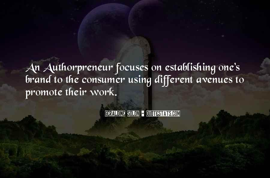 Quotes About Avenues #311918