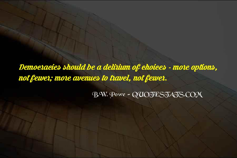 Quotes About Avenues #386001
