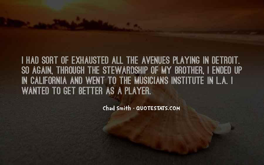 Quotes About Avenues #496516