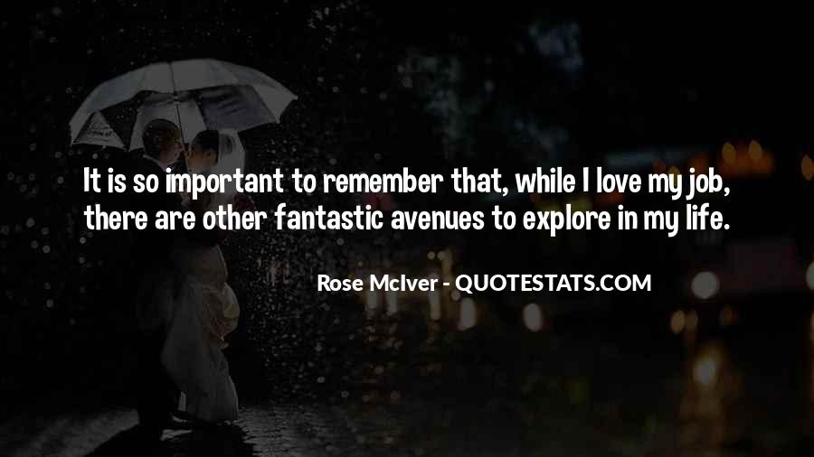 Quotes About Avenues #574136