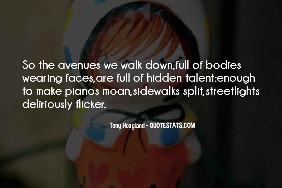 Quotes About Avenues #666214