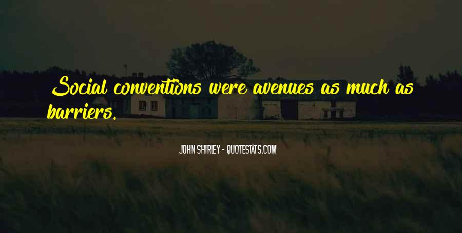 Quotes About Avenues #792613