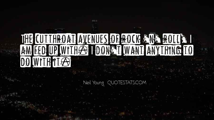 Quotes About Avenues #960150