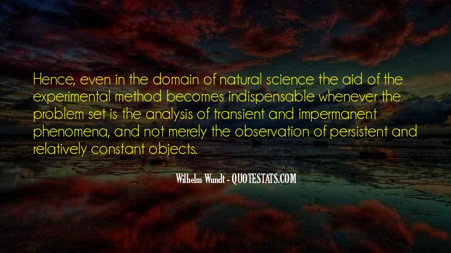 Quotes About Experimental Method #227558