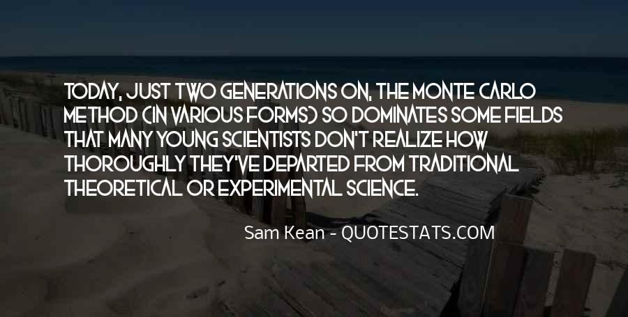 Quotes About Experimental Method #401319