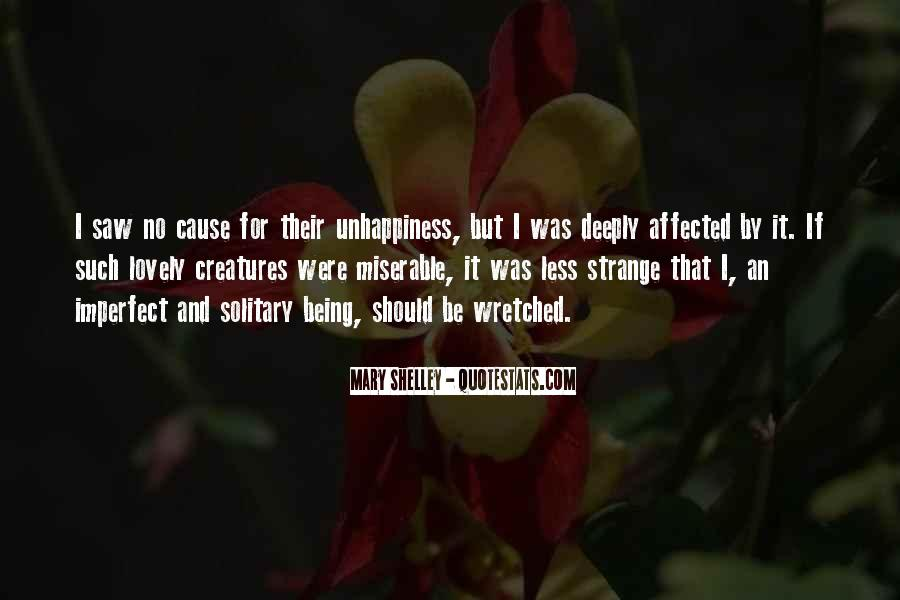 Quotes About Being Solitary #629334