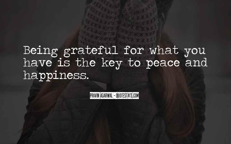 Quotes About Grateful For What You Have #1701397