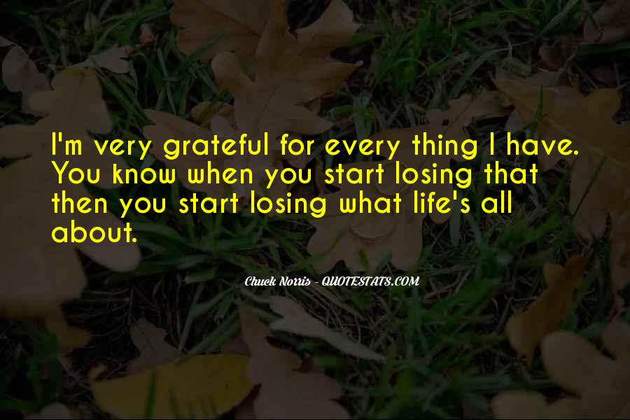 Quotes About Grateful For What You Have #276158