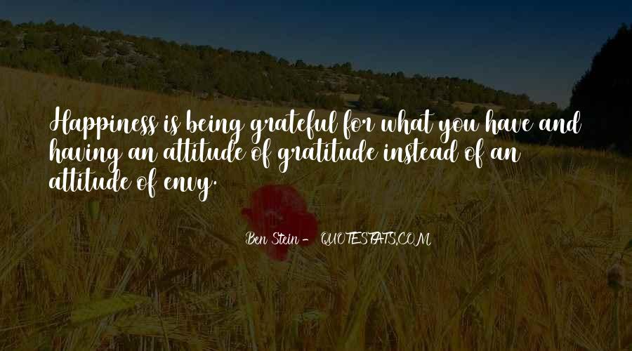 Quotes About Grateful For What You Have #846369