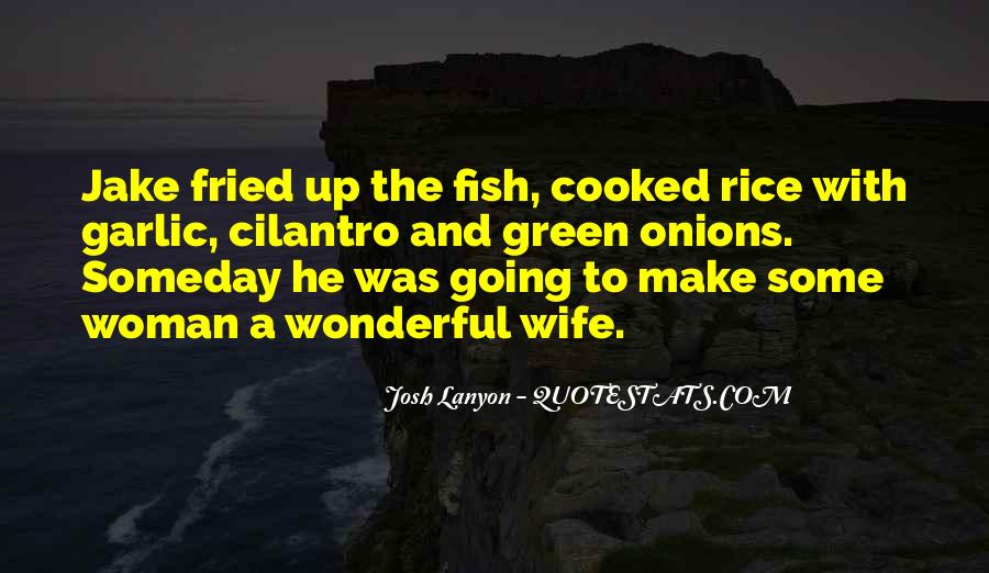 Quotes About Fried Rice #556342