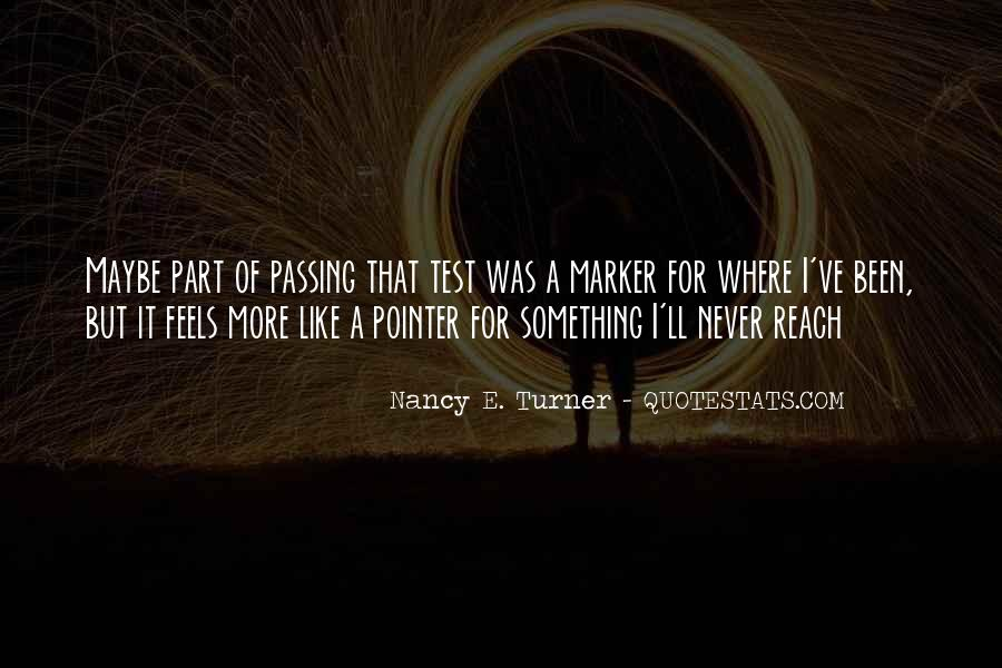 Quotes About Passing A Test #1616226