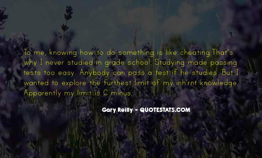 Quotes About Passing A Test #454425