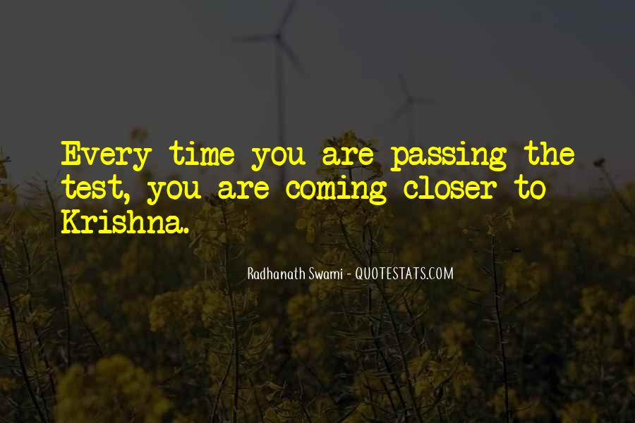 Quotes About Passing A Test #578423