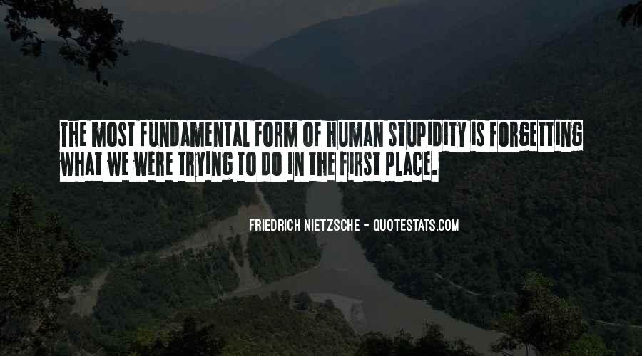 Quotes About Human Stupidity #108982