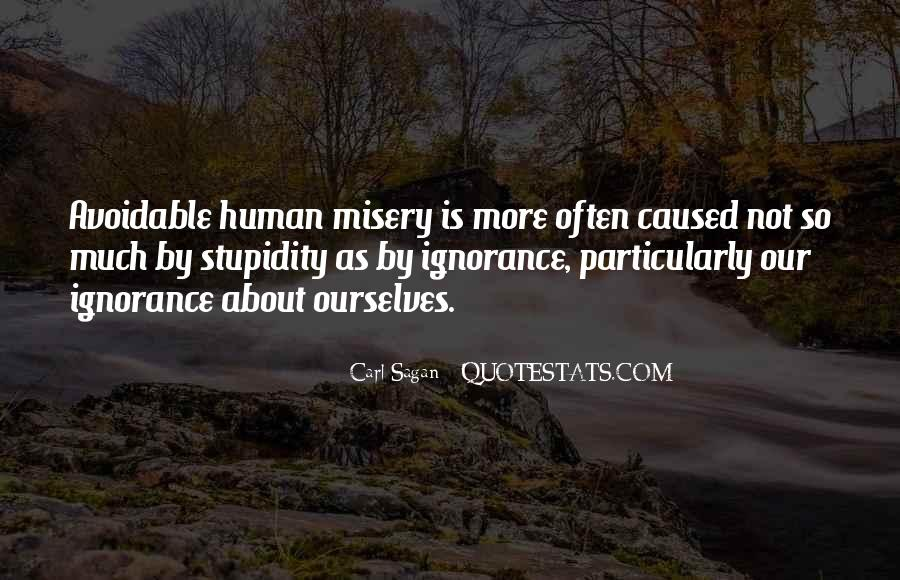 Quotes About Human Stupidity #1718746
