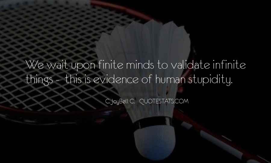 Quotes About Human Stupidity #621364
