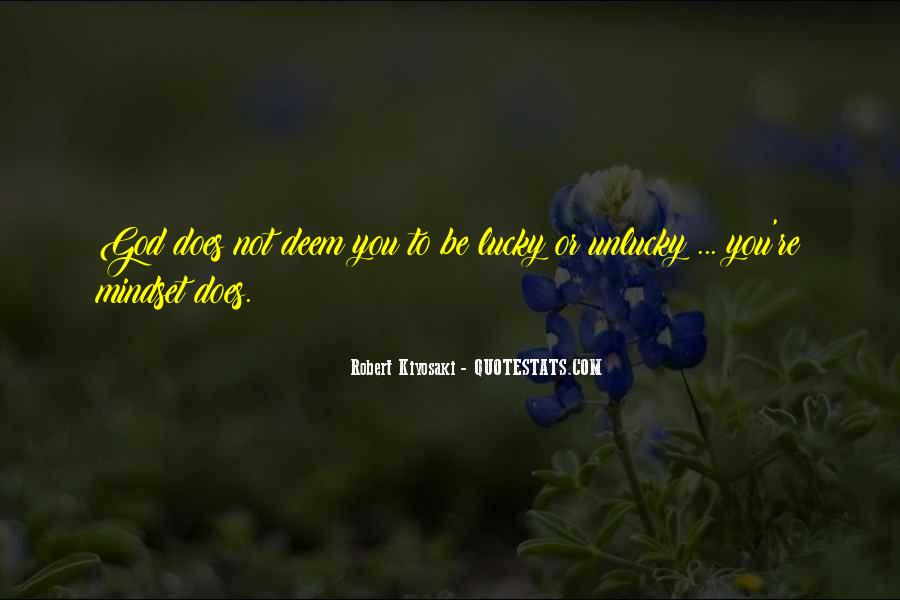 Quotes About Lucky You #2032