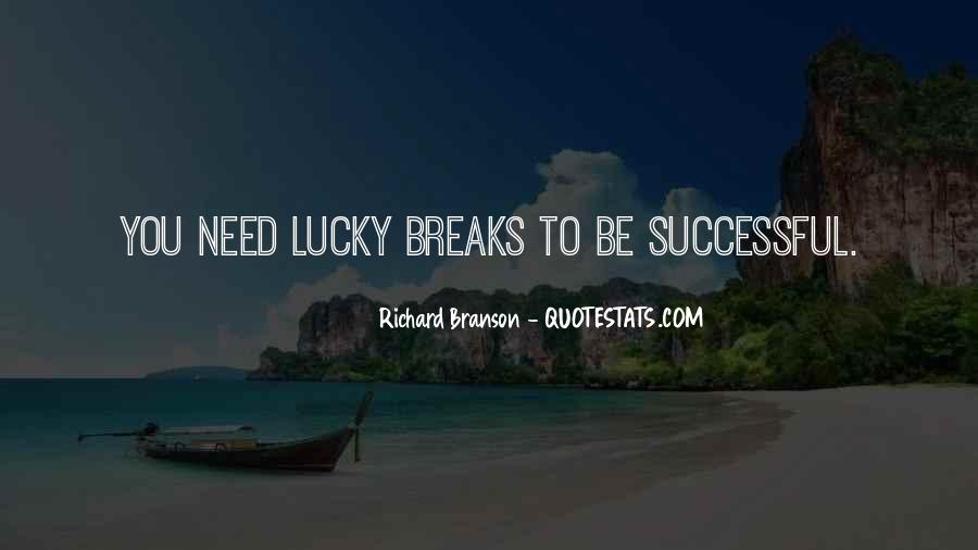 Quotes About Lucky You #2717