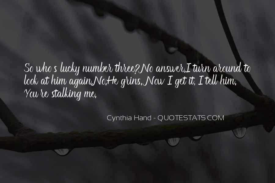 Quotes About Lucky You #51945