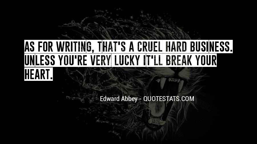 Quotes About Lucky You #56015