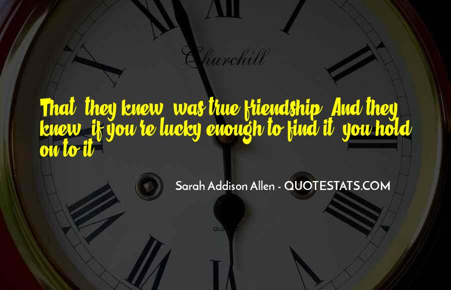 Quotes About Lucky You #56246