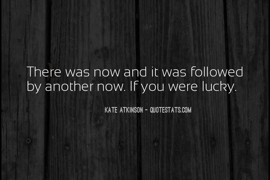 Quotes About Lucky You #69089