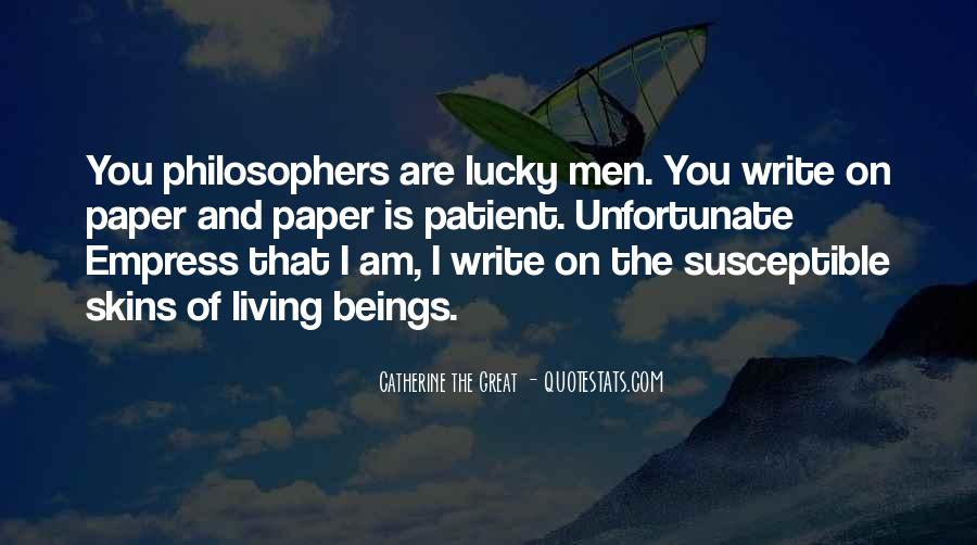 Quotes About Lucky You #92027