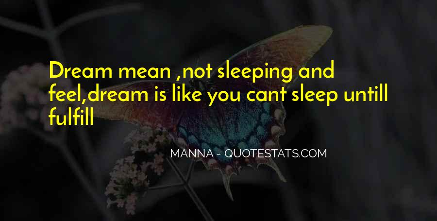 Quotes About Not Sleeping #109487