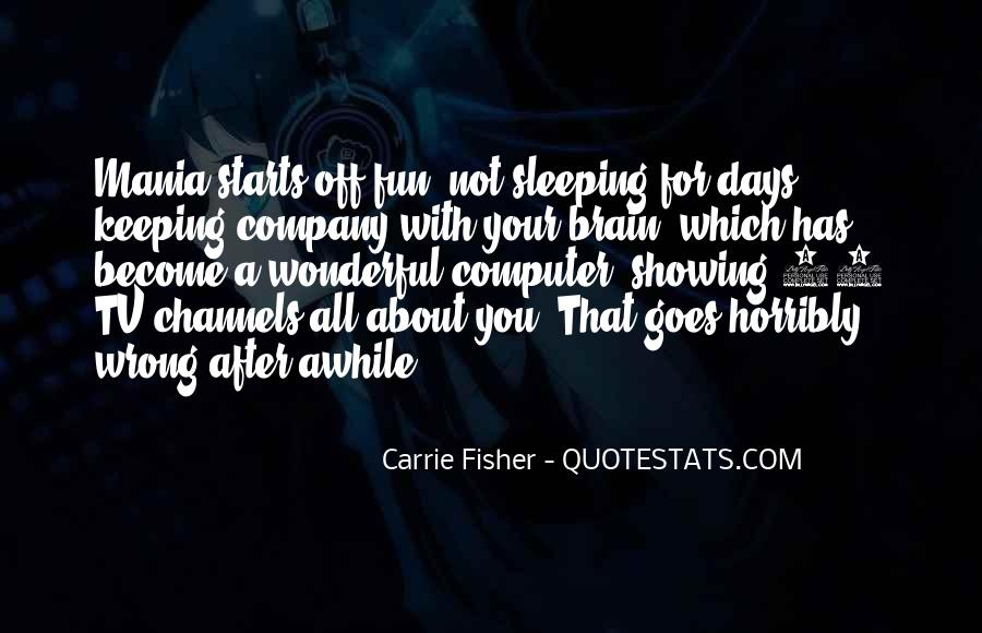 Quotes About Not Sleeping #121090