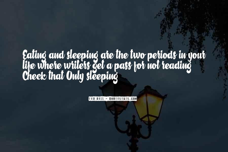 Quotes About Not Sleeping #160616
