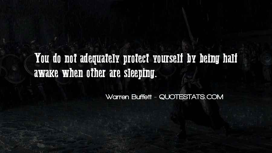 Quotes About Not Sleeping #185088