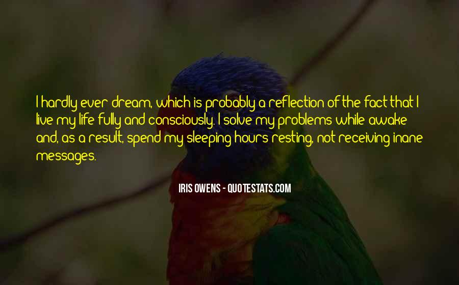 Quotes About Not Sleeping #204885