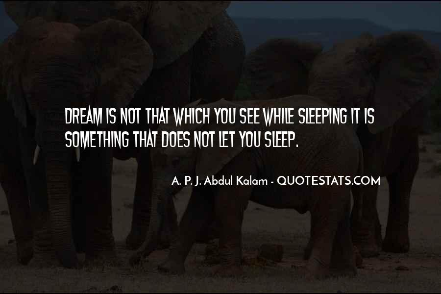 Quotes About Not Sleeping #228132