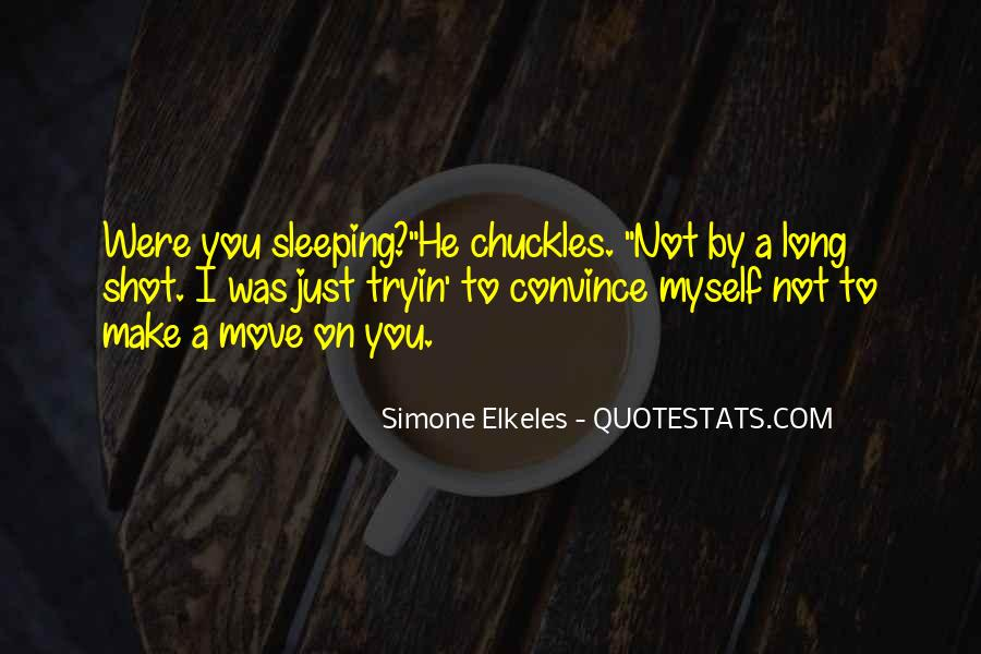 Quotes About Not Sleeping #249777