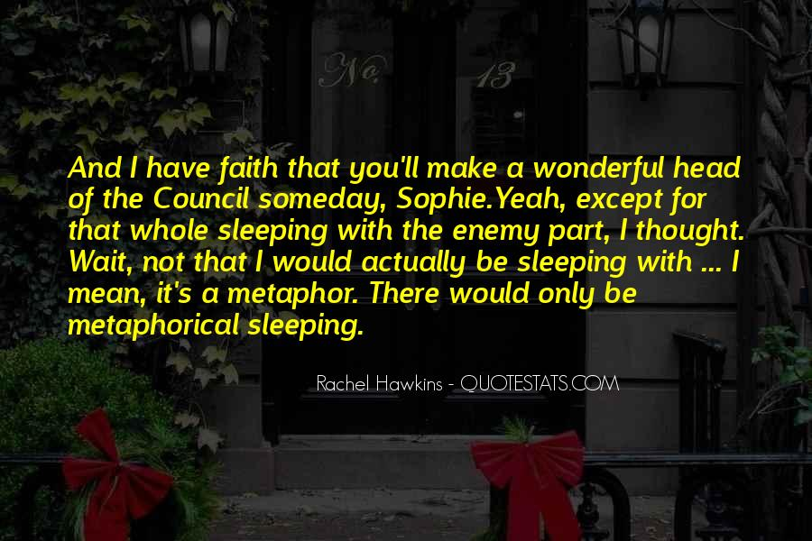 Quotes About Not Sleeping #31871
