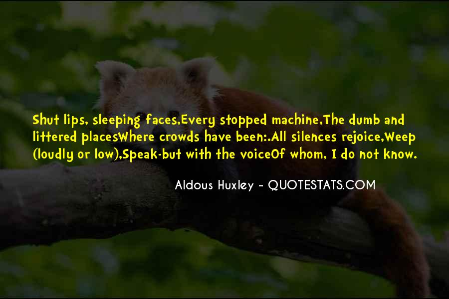 Quotes About Not Sleeping #318781