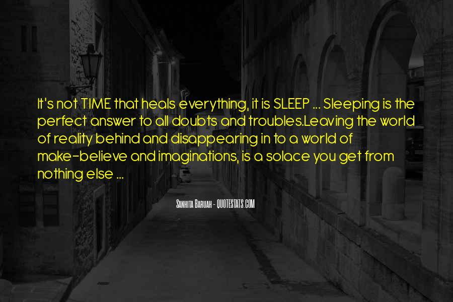 Quotes About Not Sleeping #442113