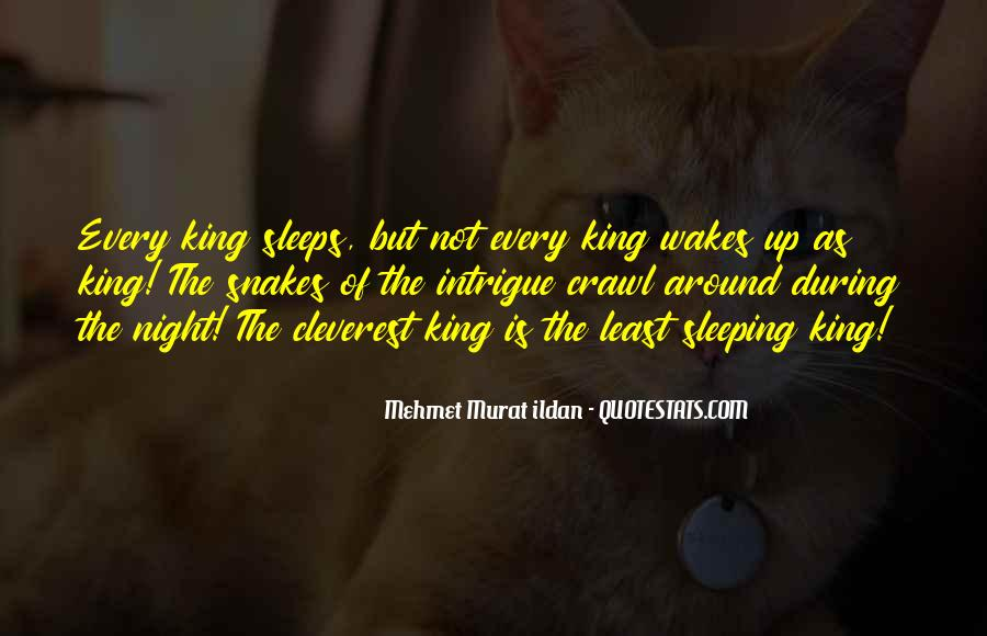 Quotes About Not Sleeping #442901