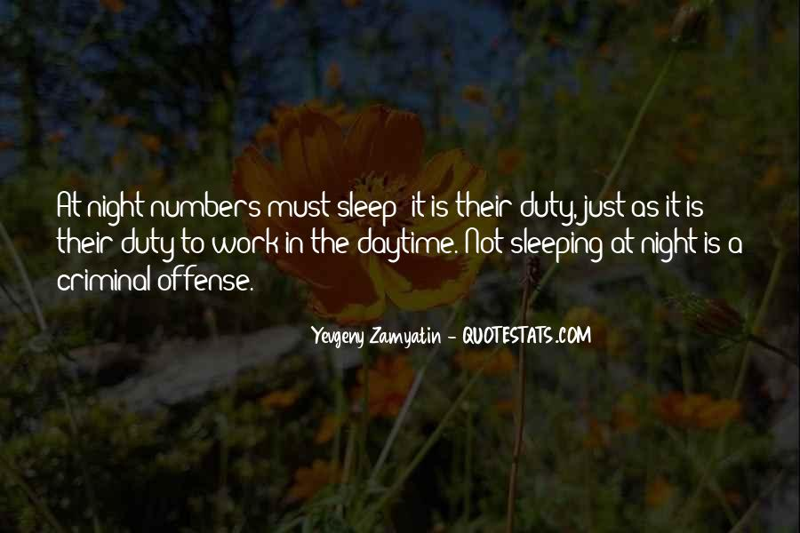 Quotes About Not Sleeping #461880