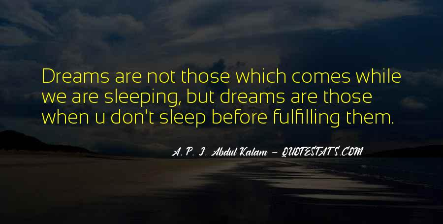 Quotes About Not Sleeping #482779
