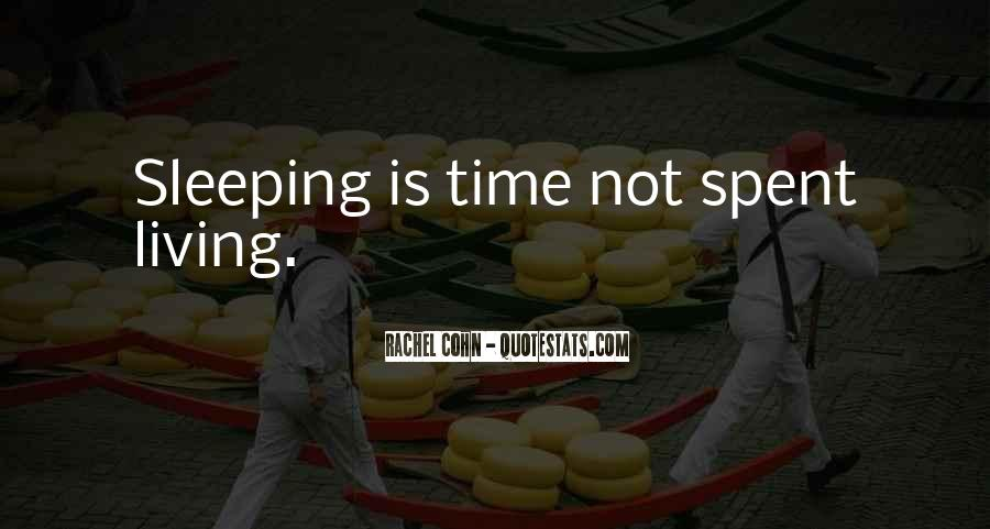 Quotes About Not Sleeping #532084