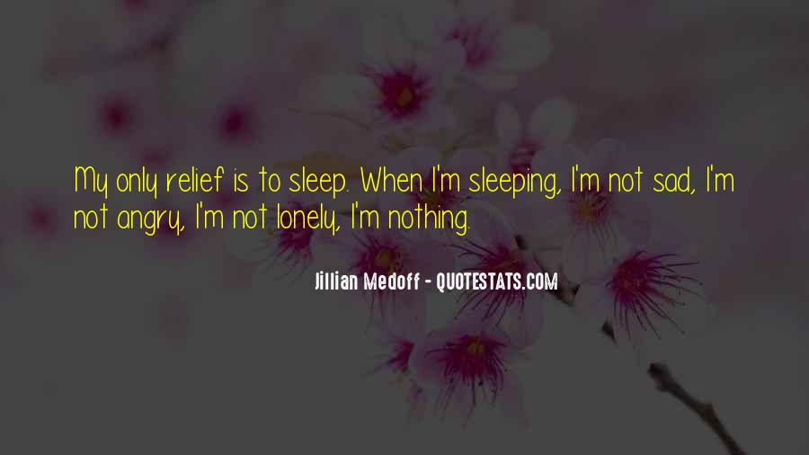 Quotes About Not Sleeping #554993