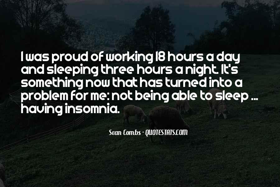 Quotes About Not Sleeping #580264