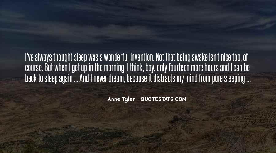 Quotes About Not Sleeping #95166